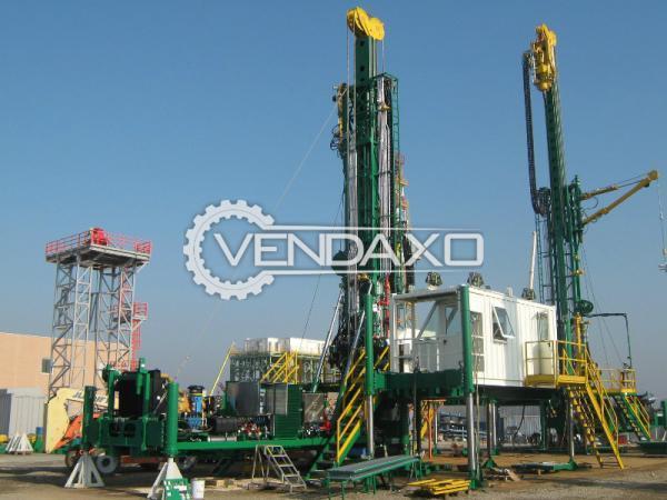 Drillmax DTD Drilling Rig Machine - 540 HP, 2012 Model