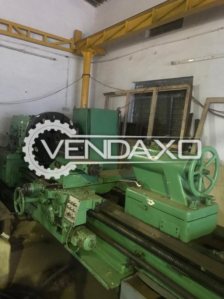 Poreba Poland Make All Geared Lathe Machine - Center height : 450 mm