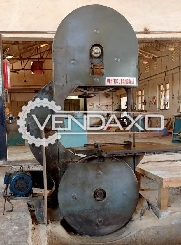Available For Sale Vertical Bandsaw Machine - 42.5""