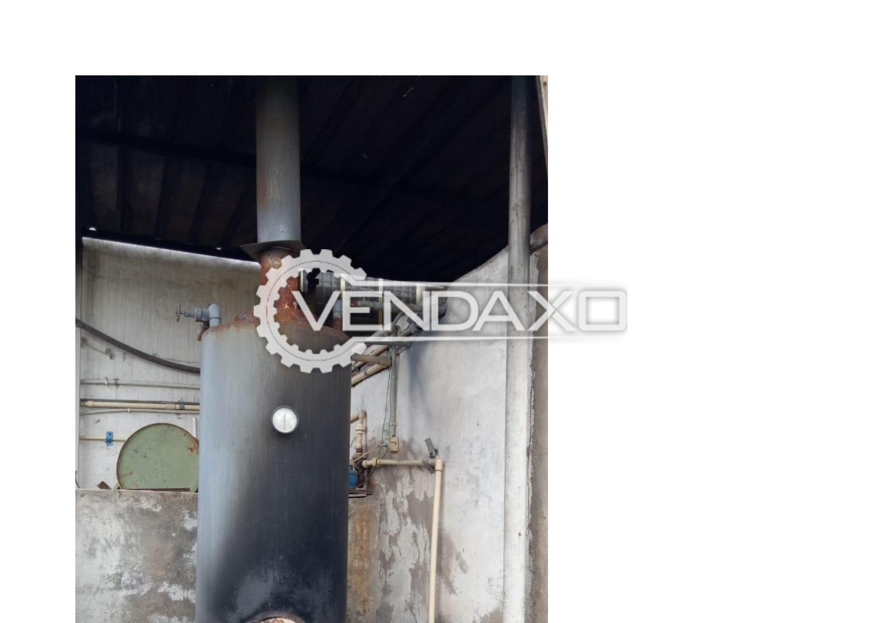Fired Steam Boiler With Wood - 100 KG