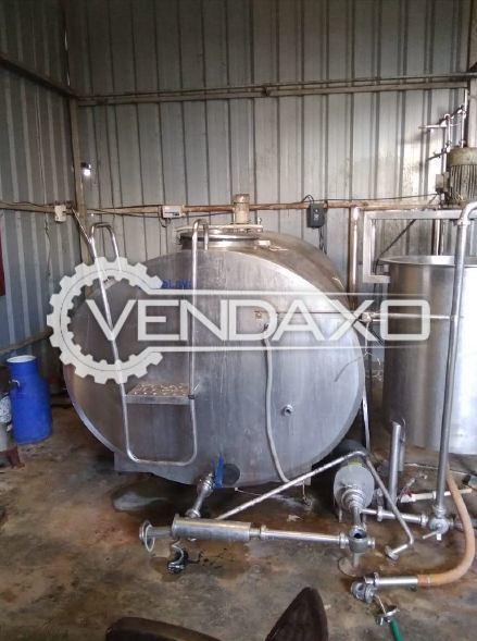 Delaval Make BMC Machine - 3000 Liter, 2015 Model