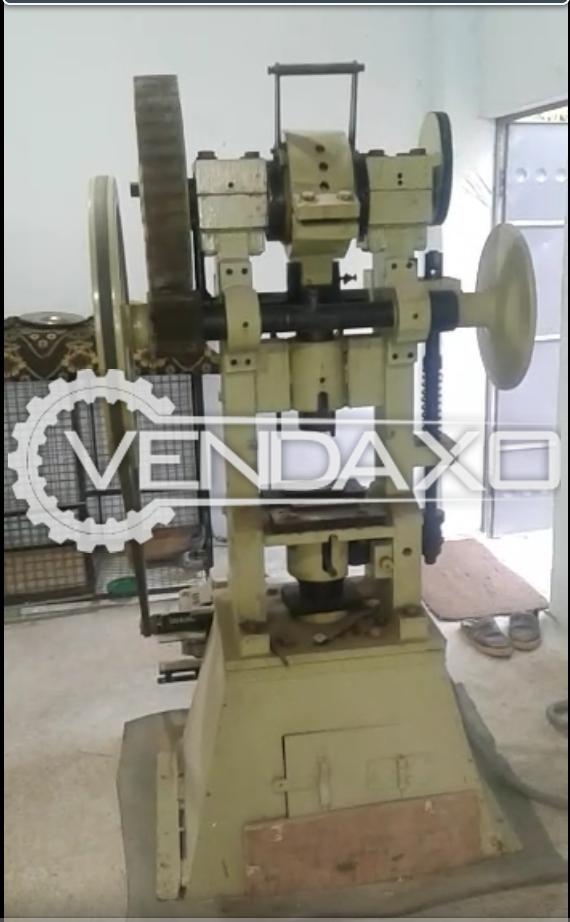 Single Stroke Heavy Duty Tablet Press Machine - Diameter : Upto 100 mm