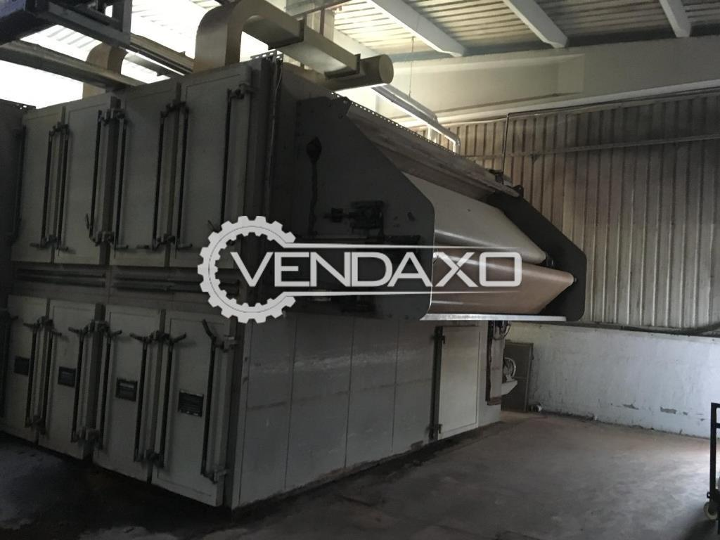 Entema Relax Dryer Machine - Width - 3.20 Meter, 2007 Model