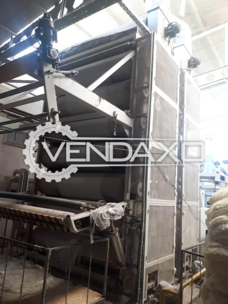 Baraban Kurutma Cylinder Drying Machine - Width - 2.40 Meter