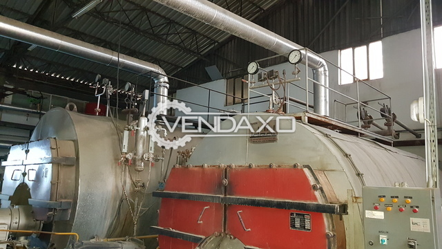Ideal Steam Boiler -  Pressure - 12 bar