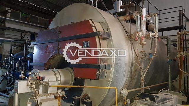 Ideal Steam Boiler - Pressure - 12 bar, 1993 Model