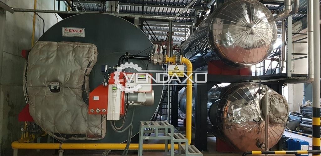 Eralp Steam Boiler - Heating Surface - 235m², 2012 Model