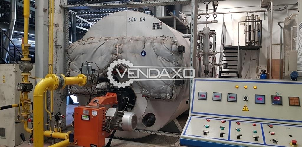 Ideal Steam Boiler - Pressure - 12 bar, 2002 Model