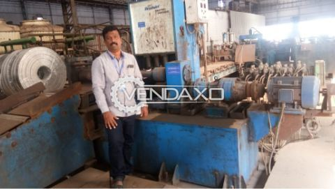 Used Steel Industry machines like Metal Rolling Mill Machinery and parts as well as Slitting and Grinding Machines Purchased in 2017 are for sale