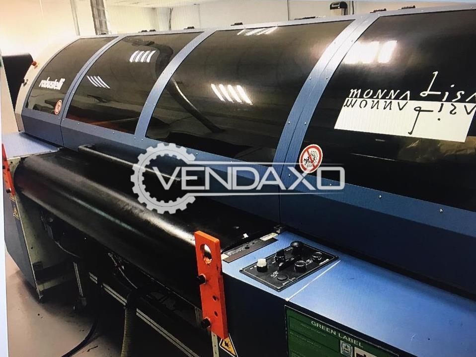 Robustelli Monna Lisa Digital Printing Machine - Width - 1.80 Meter, 8 Color