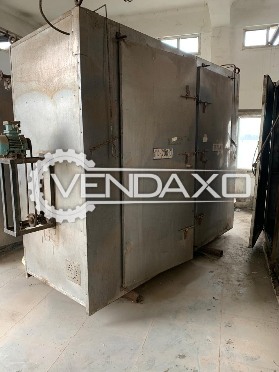 Tray Dryer - 128 Tray