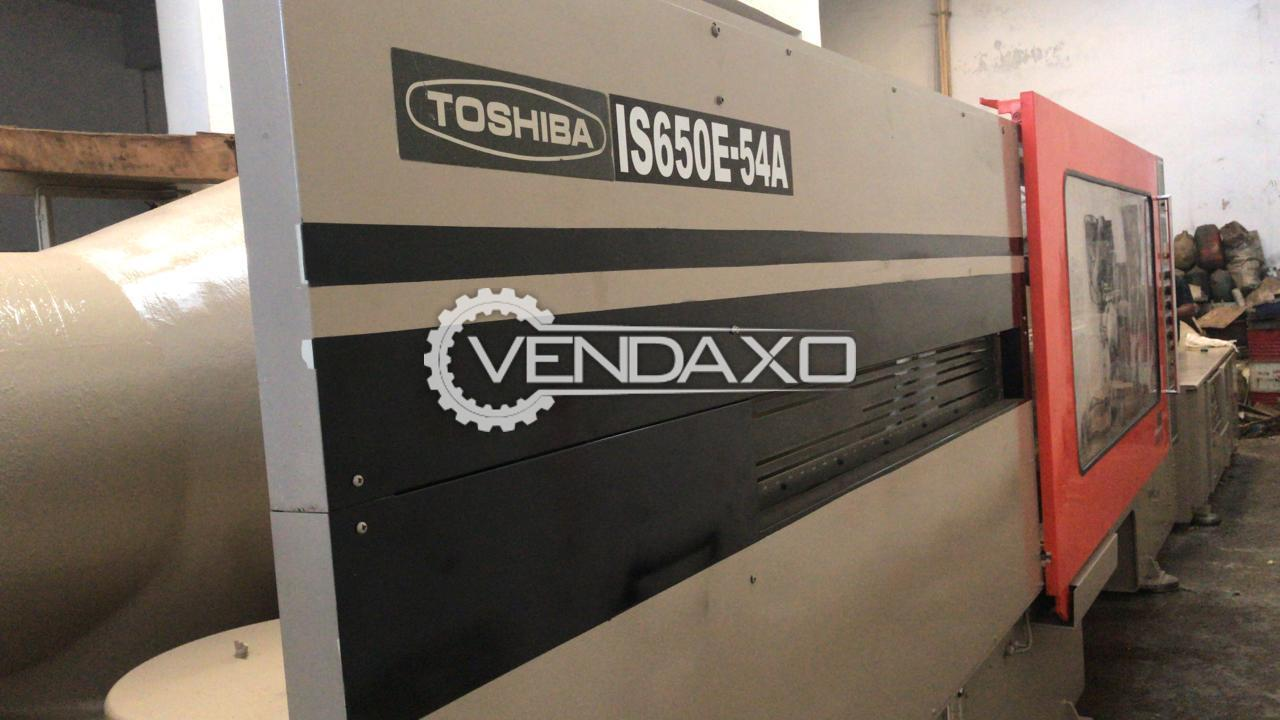 Toshiba IS-650E-54A Injection Moulding Machine - 650 Ton