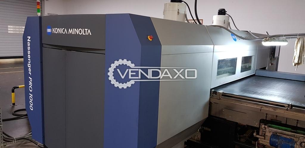 Konica Minolta Digital Printing Machine - Width - 1.85 Meter