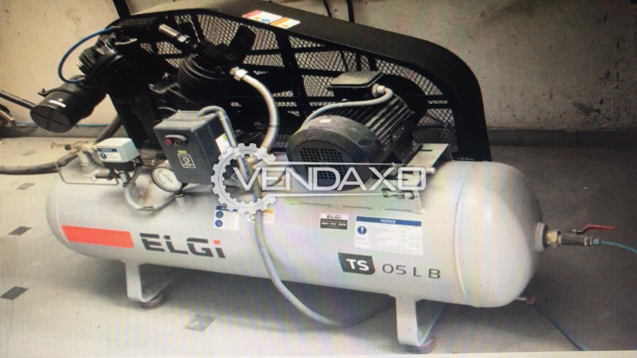 ELGI TS 05LB Reciprocating Compressor - 5 HP, 2019 Model