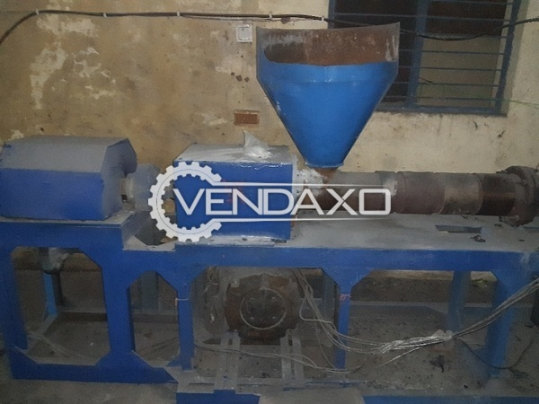Available For Sale Complete Plastic Granules Making Plant - 1000 to 1200 kg per 12 hour