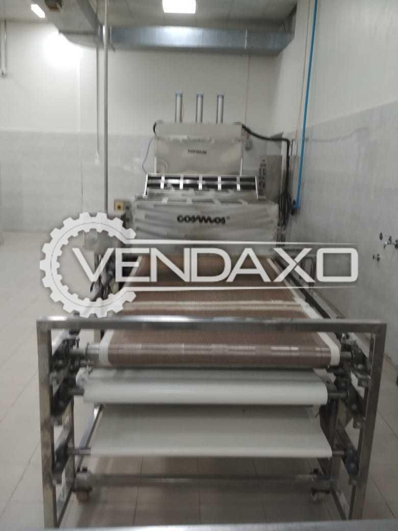 Lakshmi Engineering Make Retort Chapati Machine - 85 cm X 4 sides