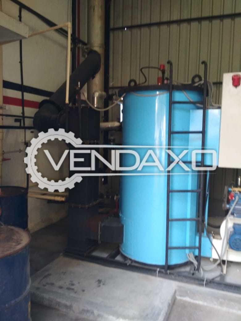Available For Sale Steam Boiler - 600 kg/hr, 2018 Model