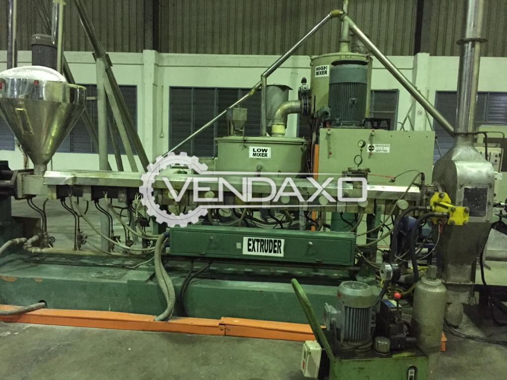 Avaialble For Sale Plastics Granule Complete Machinery Setup