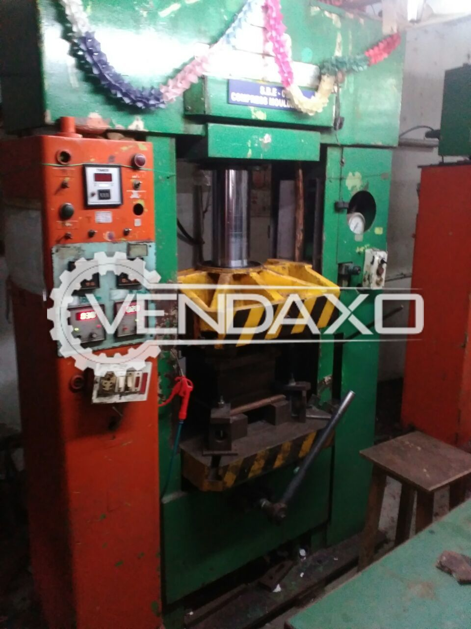 Hindustan Hydraulic Power Press - 100 Tons