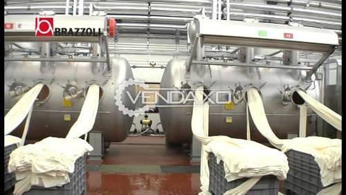 Brazzoli HT-HP Dyeing Machine - 250 Kg