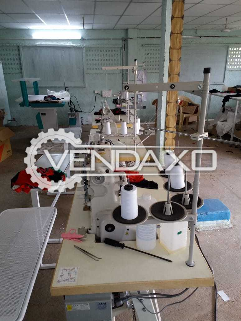 For Sal Used Industrial sewing machines,fabric cutting machine,steam iron table and boiler,pneumatic heat transfer machine