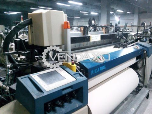 Picanol OMNI-PLUS 800 Weaving Loom Machine - 190 CM, 2 Color