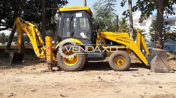 Tata 315 E Backhoe Loader  - Horsepower - 76 HP, 2200 RPM