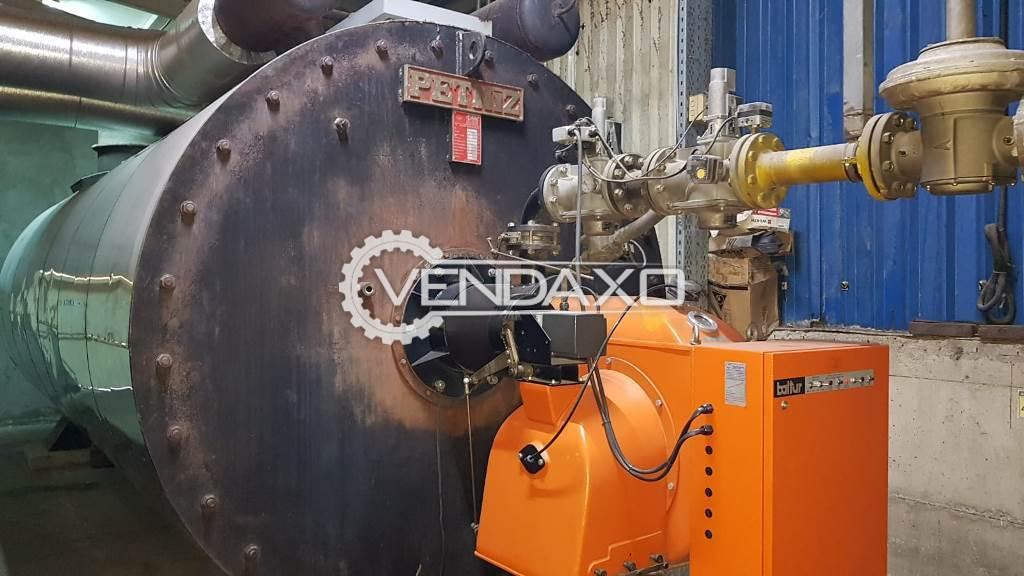 Petniz Oil Steam Boiler - 40,00,000 kcal, 2004 Model