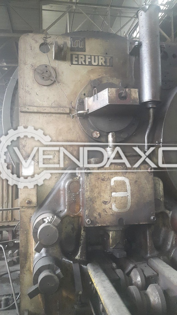 WMW Erfurt SCPKI 1600 Billet Shearing Machine - Capacity : 1600 Ton
