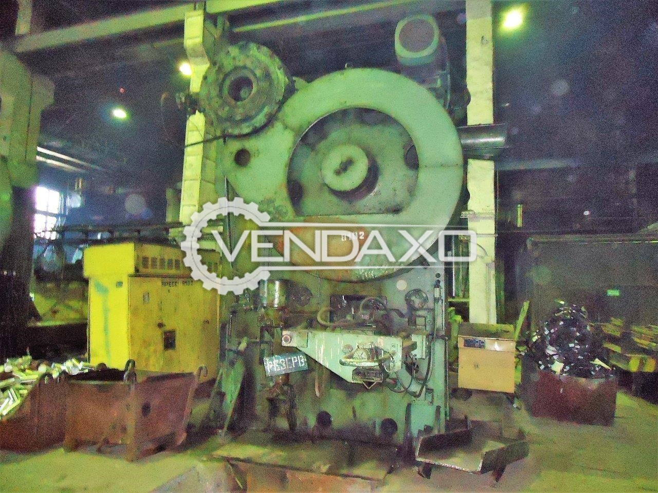WMW Erfurt SCPK 800 Billet Shearing Machine - Capacity : 800 Ton