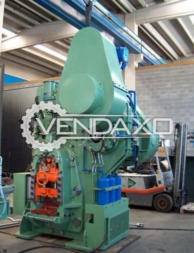 Ficep F 560 Billet Shearing Machine - Capacity : 560 Ton