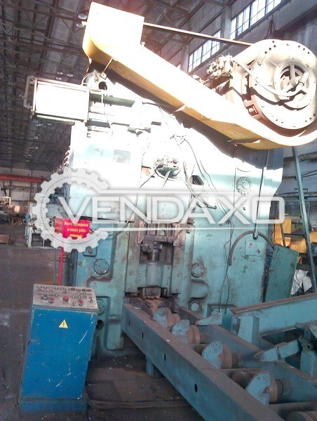 WMW Erfurt SCPK 800 Billet Shearing Machine - Capacity : 800 Ton