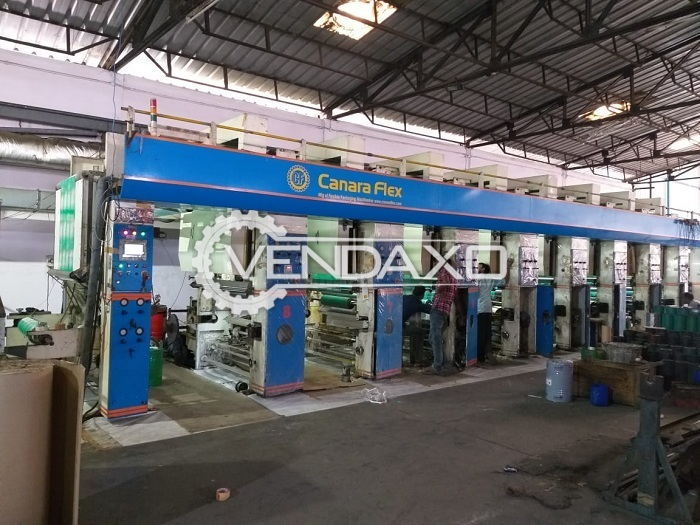 Avaialble For Sale Printing Machine, Pouch Packaging Machine, Lamination & Slitting Machine