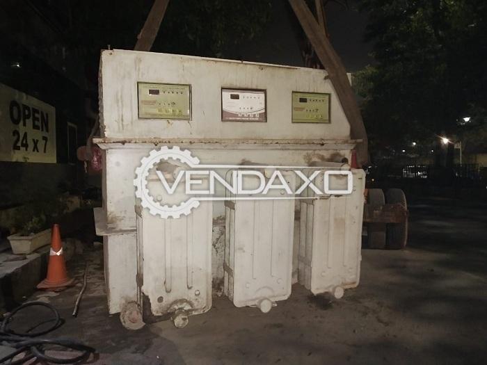 For Sale Used Servokon Servo Stabilizer - 100 Kva, 2012 Model