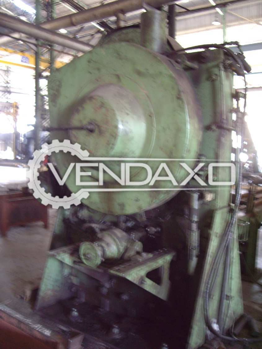 Peddinghaus 214/400 Billet Shearing Machine - Capacity : 400 Ton
