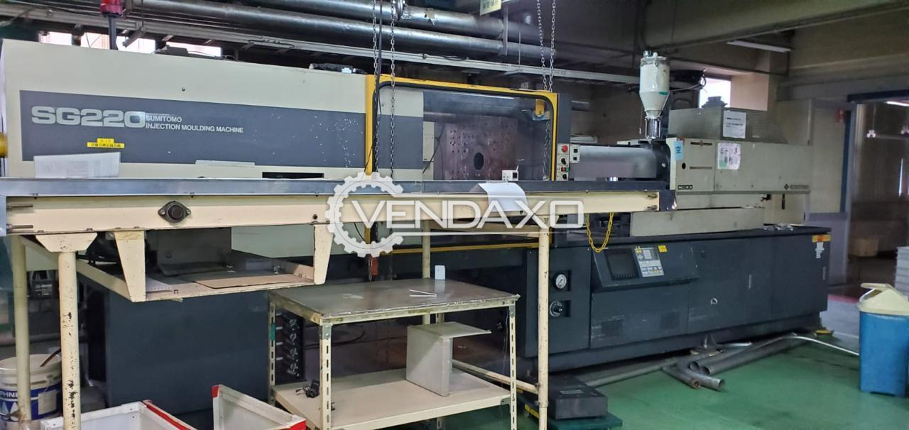 Sumitomo SG220 Injection Moulding Machine - 220 Ton