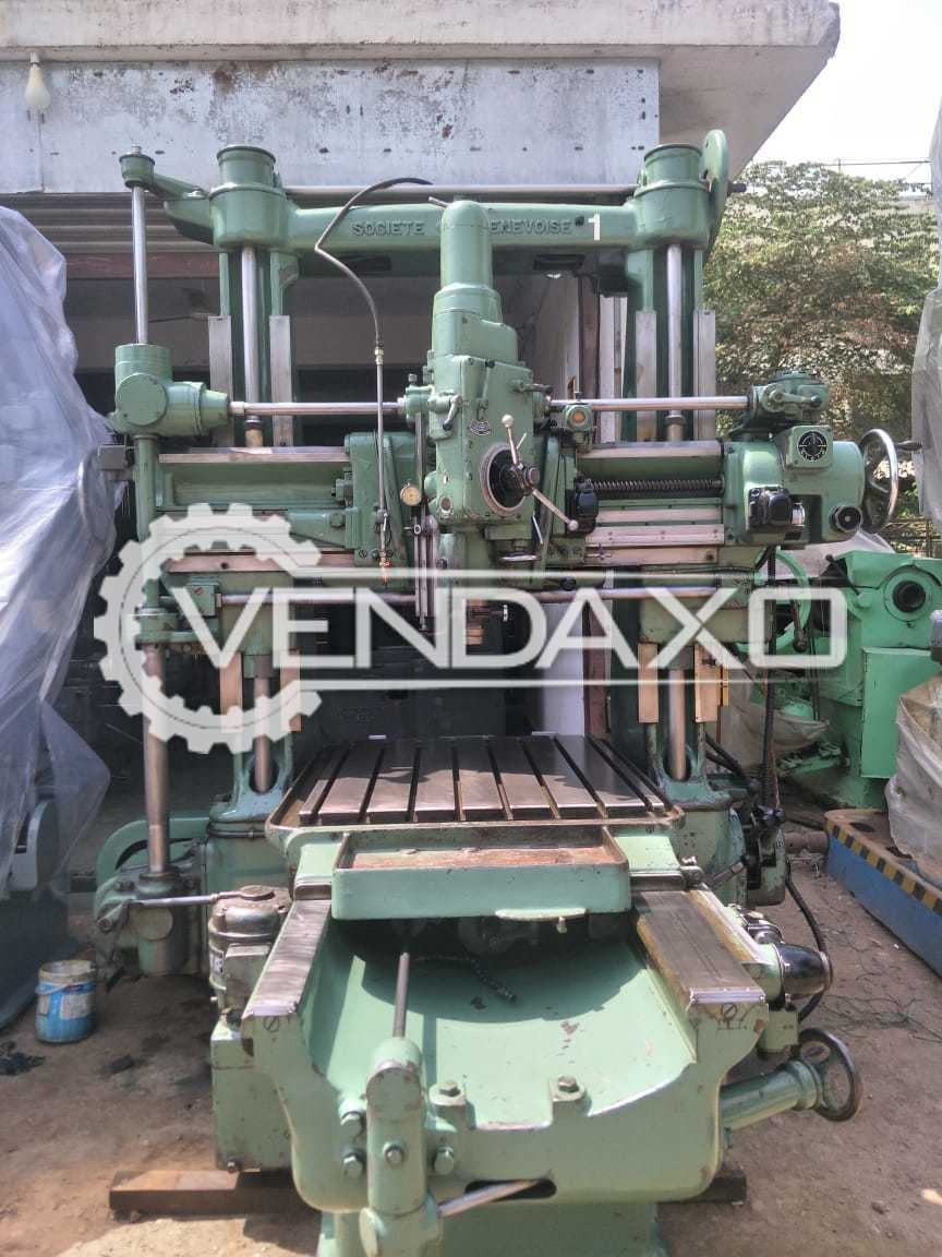SIP Genevoise MP-5F Jig Boring Machine - Table Size : 1000 x 800 mm