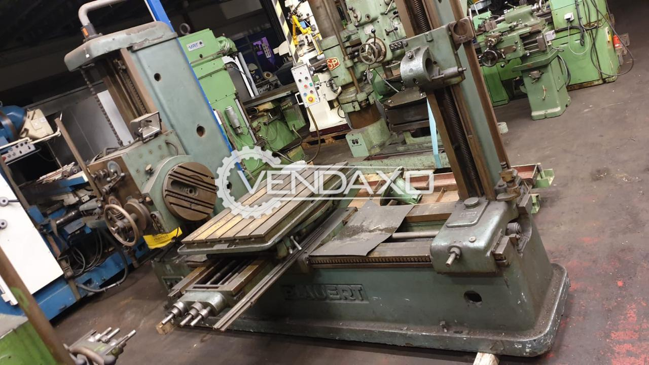 TOS H 63A Horizontal Boring Machine - Table Size : 900 x 900 mm