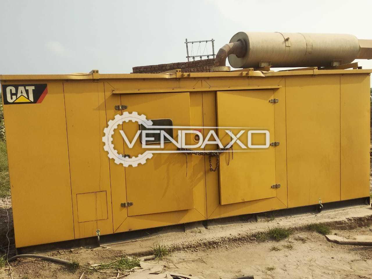 Caterpillar C15 Diesel Generator - 500 Kva