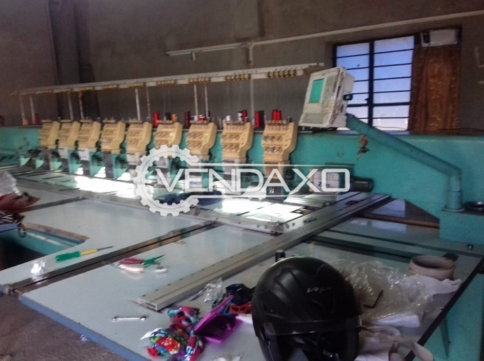 For Sale Used Embroidery Machine - 300 x 1200 mm
