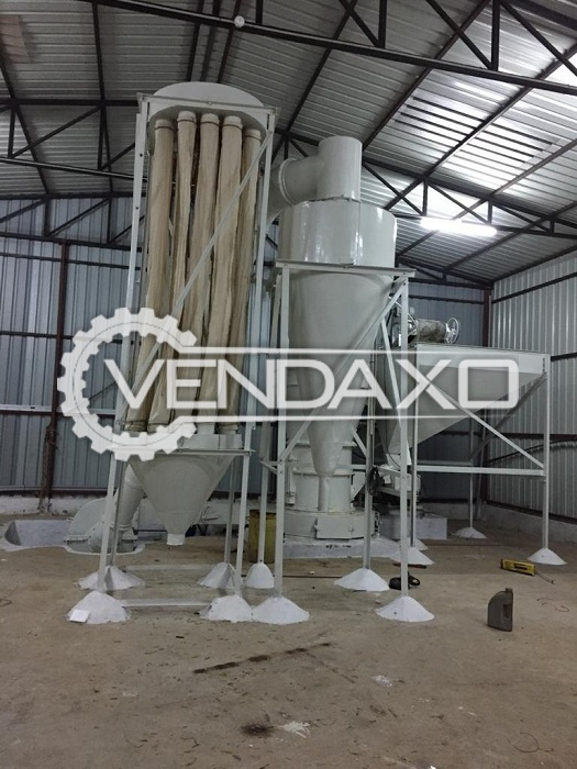 For Sale Used Three Roller Mill Machine - 80000 kg per day