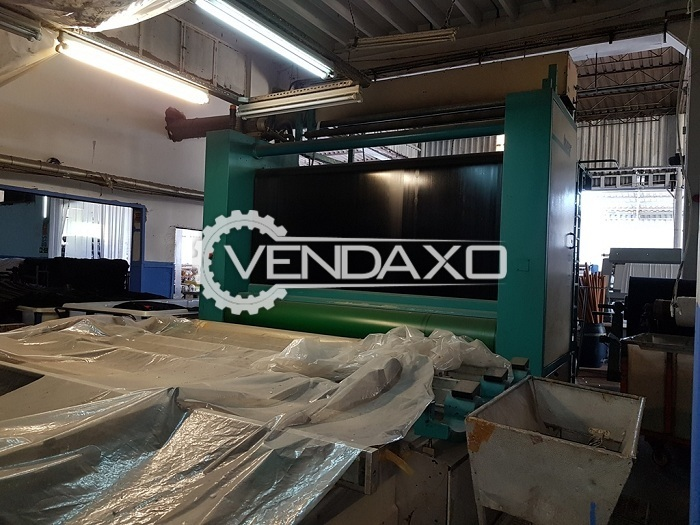 Buser Flatbed Printing Machine - 2.60 Meter, 12 Color