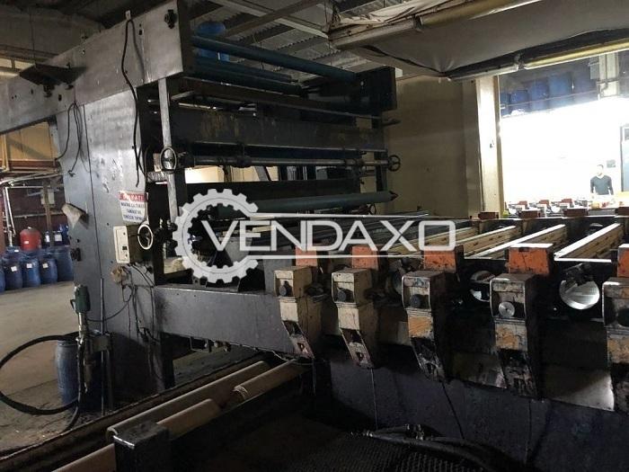 Stork Rd4 Fimaro Rotary Printing Machine - 2.60 Meter, 12 Color