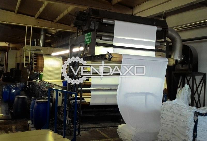 Buser Rotary Printing Machine - Width - 1.85 Meter, 12 Color