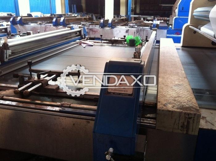 2 Set OF Key Cheng Flatbed Printing Machine - 2.20 Meter