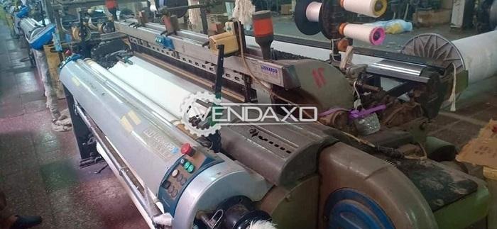 4 Set OF Vamatex Leonardo Silver Loom Machine - Width - 190 CM