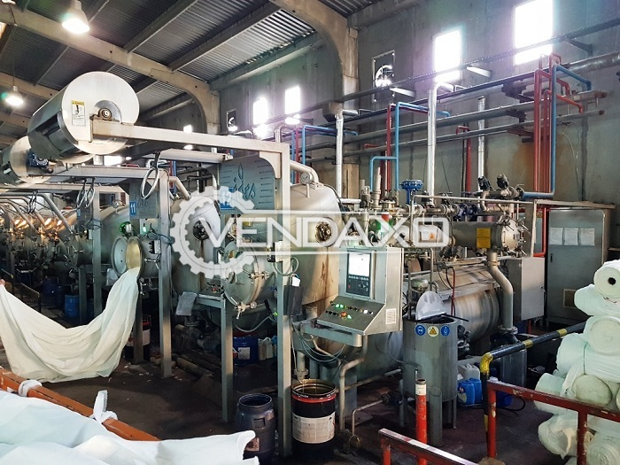 Ides Tubular HT Dyeing Machine - 100 KG, 2017 Model