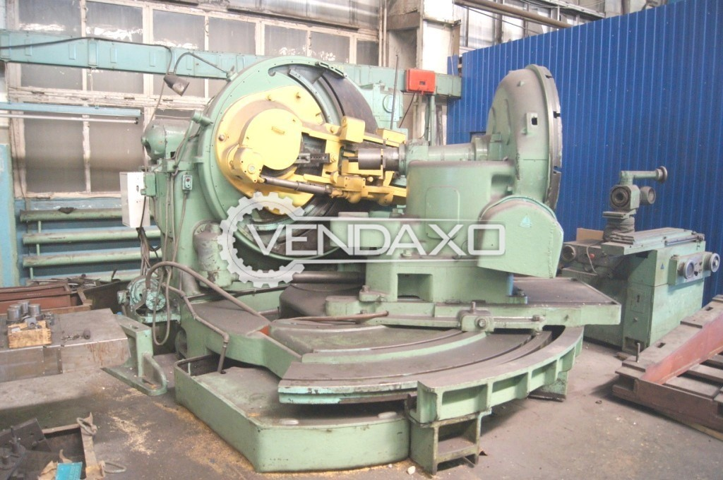 Gleason 60 Hypoid Spiral Bevel Gear Generator - Floor Area : 2920 x 4100 mm