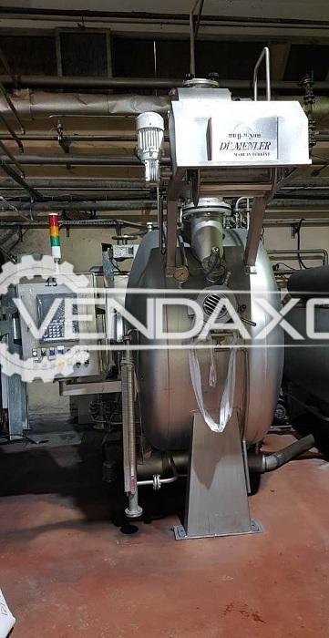 Dilmenler HT Fabric Dyeing Machine - 75 KG, 2011 Model