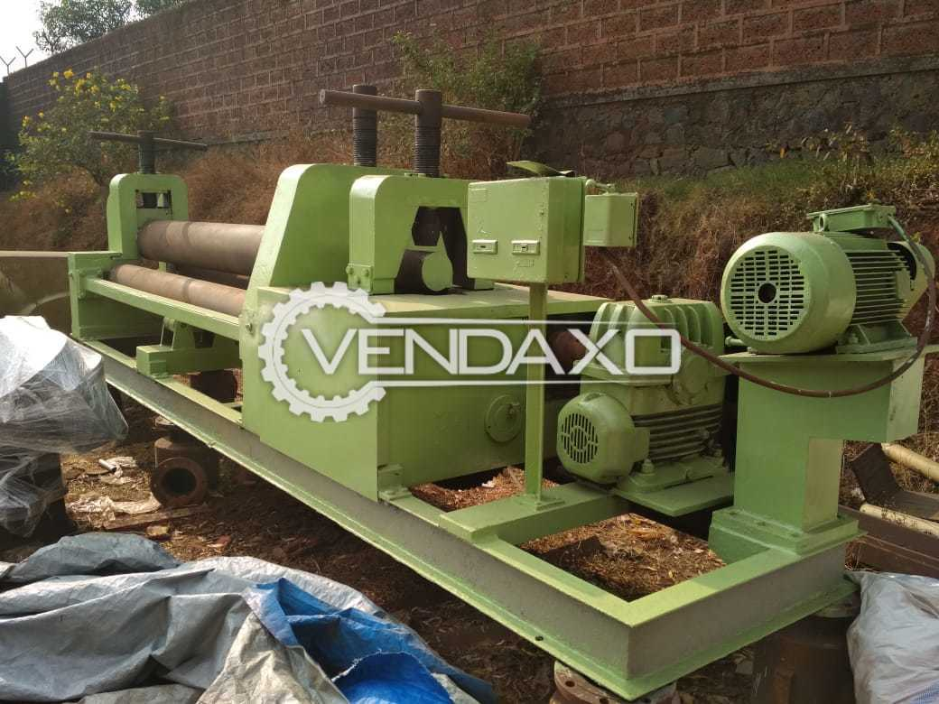 Indian Make Rolling Machine - Top Roll Diameter : 275 mm